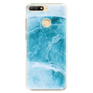 Plastové pouzdro iSaprio - Blue Marble - Huawei Y6 Prime 2018