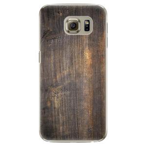 Plastové pouzdro iSaprio - Old Wood - Samsung Galaxy S6 Edge Plus