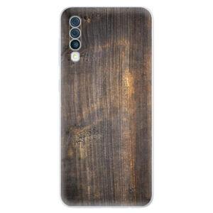 Odolné silikonové pouzdro iSaprio - Old Wood - Samsung Galaxy A50