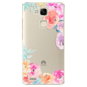 Plastové pouzdro iSaprio - Flower Brush - Huawei Ascend Mate7