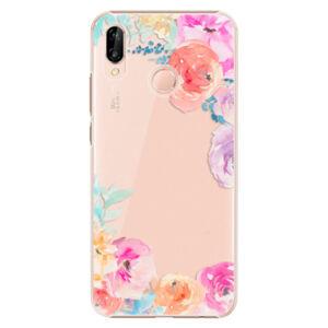 Plastové pouzdro iSaprio - Flower Brush - Huawei P20 Lite