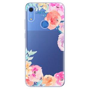 Odolné silikonové pouzdro iSaprio - Flower Brush - Huawei Y6s