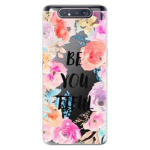 Odolné silikonové pouzdro iSaprio - BeYouTiful - Samsung Galaxy A80