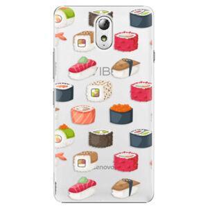 Plastové pouzdro iSaprio - Sushi Pattern - Lenovo P1m