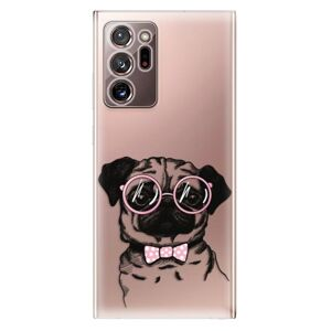 Odolné silikonové pouzdro iSaprio - The Pug - Samsung Galaxy Note 20 Ultra