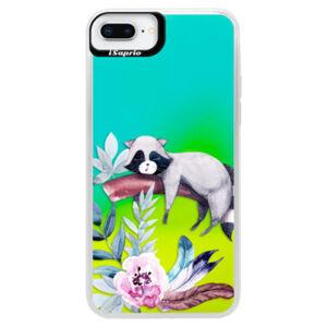 Neonové pouzdro Blue iSaprio - Lazy Day - iPhone 8 Plus