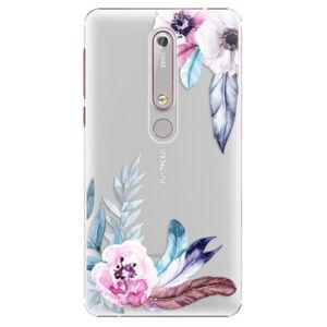 Plastové pouzdro iSaprio - Flower Pattern 04 - Nokia 6.1