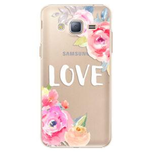 Plastové pouzdro iSaprio - Love - Samsung Galaxy J3 2016