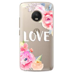 Plastové pouzdro iSaprio - Love - Lenovo Moto G5 Plus