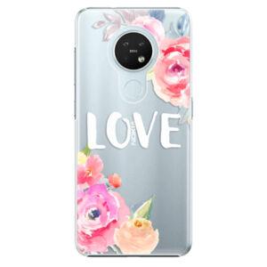 Plastové pouzdro iSaprio - Love - Nokia 7.2