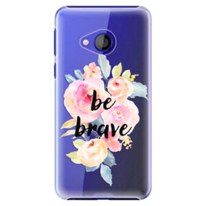 Plastové pouzdro iSaprio - Be Brave - HTC U Play