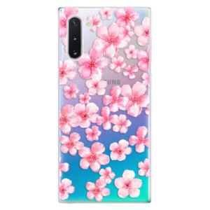 Odolné silikonové pouzdro iSaprio - Flower Pattern 05 - Samsung Galaxy Note 10