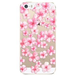 Odolné silikonové pouzdro iSaprio - Flower Pattern 05 - iPhone 5/5S/SE