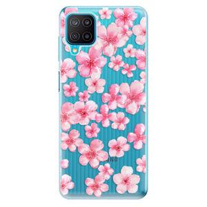 Odolné silikonové pouzdro iSaprio - Flower Pattern 05 - Samsung Galaxy M12