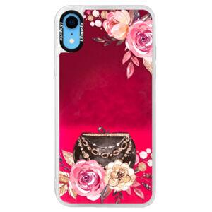 Neonové pouzdro Pink iSaprio - Handbag 01 - iPhone XR