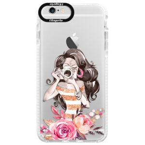 Silikonové pouzdro Bumper iSaprio - Charming - iPhone 6/6S