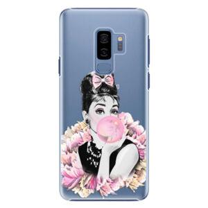 Plastové pouzdro iSaprio - Pink Bubble - Samsung Galaxy S9 Plus