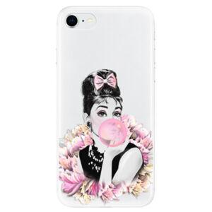 Odolné silikonové pouzdro iSaprio - Pink Bubble - iPhone SE 2020