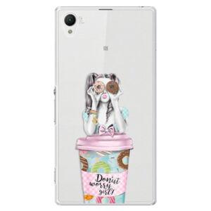 Plastové pouzdro iSaprio - Donut Worry - Sony Xperia Z1