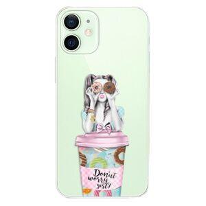 Plastové pouzdro iSaprio - Donut Worry - iPhone 12 mini