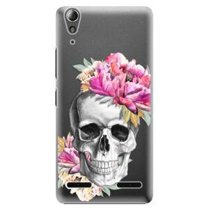 Plastové pouzdro iSaprio - Pretty Skull - Lenovo A6000 / K3