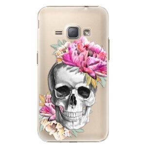 Plastové pouzdro iSaprio - Pretty Skull - Samsung Galaxy J1 2016
