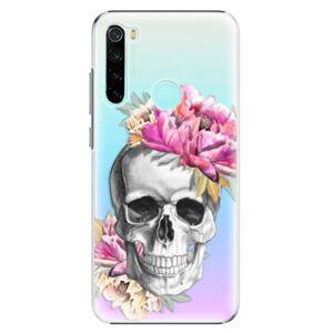 Plastové pouzdro iSaprio - Pretty Skull - Xiaomi Redmi Note 8
