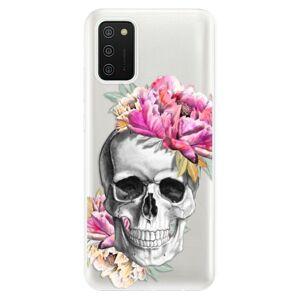 Odolné silikonové pouzdro iSaprio - Pretty Skull - Samsung Galaxy A02s