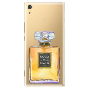 Plastové pouzdro iSaprio - Chanel Gold - Sony Xperia XA1 Ultra