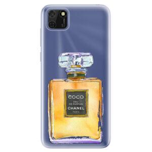 Odolné silikonové pouzdro iSaprio - Chanel Gold - Huawei Y5p