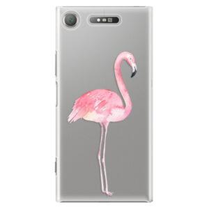 Plastové pouzdro iSaprio - Flamingo 01 - Sony Xperia XZ1