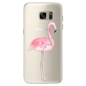 Silikonové pouzdro iSaprio - Flamingo 01 - Samsung Galaxy S7 Edge