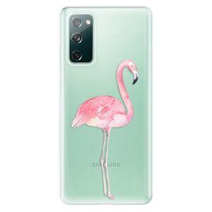 Odolné silikonové pouzdro iSaprio - Flamingo 01 - Samsung Galaxy S20 FE
