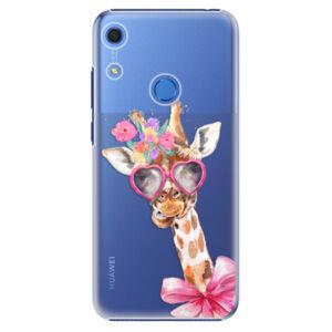 Plastové pouzdro iSaprio - Lady Giraffe - Huawei Y6s