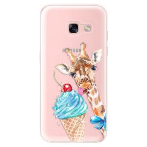 Odolné silikonové pouzdro iSaprio - Love Ice-Cream - Samsung Galaxy A3 2017