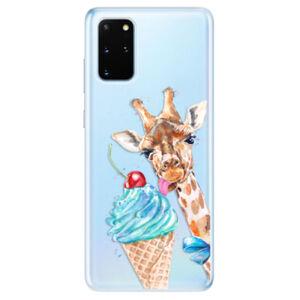 Odolné silikonové pouzdro iSaprio - Love Ice-Cream - Samsung Galaxy S20+