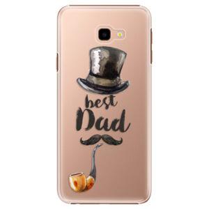 Plastové pouzdro iSaprio - Best Dad - Samsung Galaxy J4+