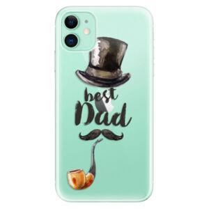 Odolné silikonové pouzdro iSaprio - Best Dad - iPhone 11