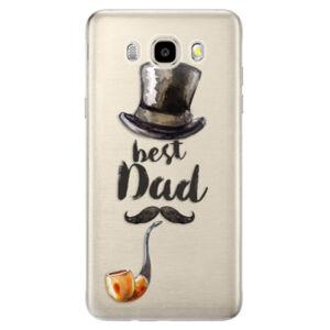 Odolné silikonové pouzdro iSaprio - Best Dad - Samsung Galaxy J5 2016