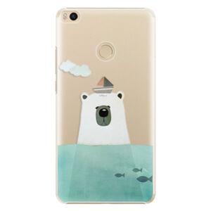 Plastové pouzdro iSaprio - Bear With Boat - Xiaomi Mi Max 2