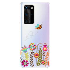 Odolné silikonové pouzdro iSaprio - Bee 01 - Huawei P40 Pro