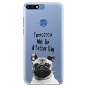 Silikonové pouzdro iSaprio - Better Day 01 - Huawei Honor 7C