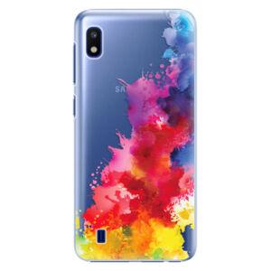Plastové pouzdro iSaprio - Color Splash 01 - Samsung Galaxy A10
