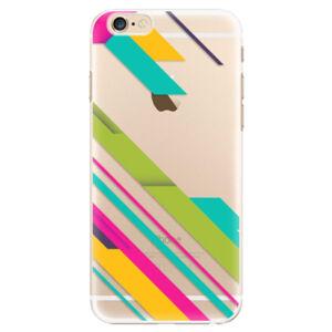 Plastové pouzdro iSaprio - Color Stripes 03 - iPhone 6/6S