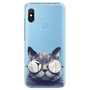 Plastové pouzdro iSaprio - Crazy Cat 01 - Xiaomi Redmi Note 6 Pro