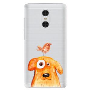 Plastové pouzdro iSaprio - Dog And Bird - Xiaomi Redmi Pro