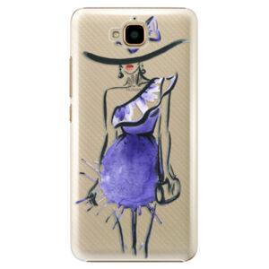 Plastové pouzdro iSaprio - Fashion 02 - Huawei Y6 Pro