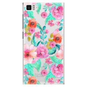 Plastové pouzdro iSaprio - Flower Pattern 01 - Xiaomi Mi3