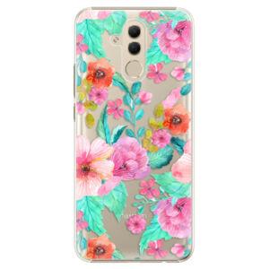 Plastové pouzdro iSaprio - Flower Pattern 01 - Huawei Mate 20 Lite