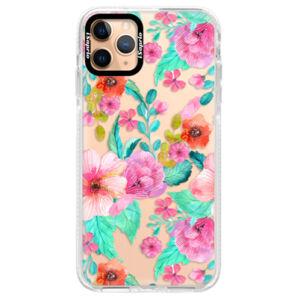 Silikonové pouzdro Bumper iSaprio - Flower Pattern 01 - iPhone 11 Pro Max